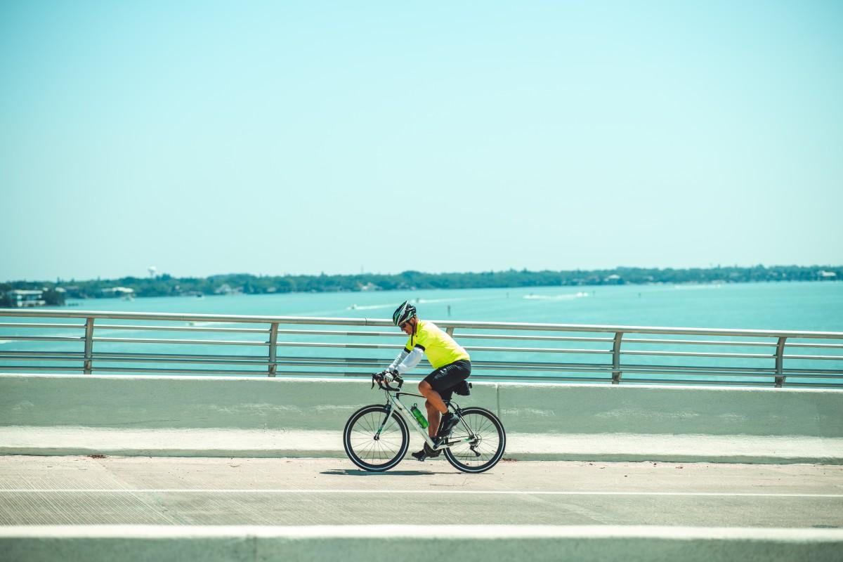 biking the sarasota bay bridge